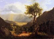 Thomas Cole View in the White Mountains oil painting picture wholesale