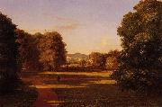 Thomas Cole The Gardens of Van Rensselaer Manor House oil painting picture wholesale
