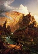 Thomas Cole Valley of the Vaucluse oil painting picture wholesale