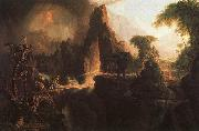 Thomas Cole Expulsion From the Garden of Eden oil painting picture wholesale