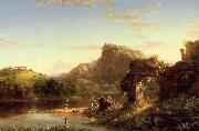 Thomas Cole Italian Sunset oil painting picture wholesale