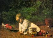 Thomas Eakins Baby at Play oil painting picture wholesale