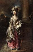 Thomas Gainsborough The Honorable Mrs Graham oil painting picture wholesale