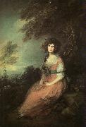 Thomas Gainsborough Mrs Richard Brinsley Sheridan oil painting picture wholesale