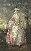 Thomas Gainsborough Mary, Countess Howe oil painting artist