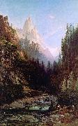 Thomas Hill Castle Craigs, California oil painting picture wholesale