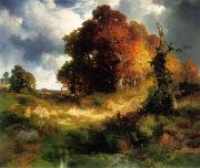 Thomas Moran Autumn oil painting artist
