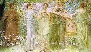 Thomas Wilmer Dewing The Days oil painting picture wholesale