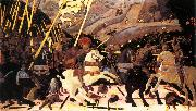 UCCELLO, Paolo Niccol da Tolentino Leads the Florentine Troops w oil painting artist