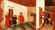 UCCELLO, Paolo Miracle of the Desecrated Host (Scene 2) t oil painting picture wholesale
