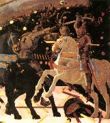 UCCELLO, Paolo Niccol da Tolentino Leads the Florentine Troops (detail) ou oil painting artist