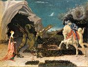 UCCELLO, Paolo St. George and the Dragon at oil painting picture wholesale