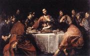 VALENTIN DE BOULOGNE The Last Supper naqtr France oil painting reproduction