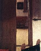 VERMEER VAN DELFT, Jan A Woman Asleep at Table (detail) aer oil painting picture wholesale
