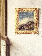 VERMEER VAN DELFT, Jan Lady Standing at a Virginal (detail) ar oil painting picture wholesale