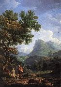 VERNET, Claude-Joseph Shepherd in the Alps  we r oil painting artist
