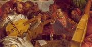 VERONESE (Paolo Caliari) The Marriage at Cana (detail) we oil painting artist