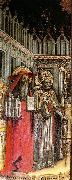 VIVARINI, family of painters Triptych (detail) e t oil painting picture wholesale