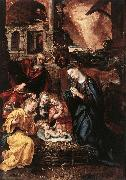 VOS, Marten de Nativity  ery oil painting picture wholesale