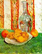 Vincent Van Gogh Still Life with Decanter and Lemons on a Plate oil painting picture wholesale