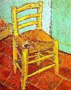 Vincent Van Gogh Artist's Chair with Pipe France oil painting reproduction