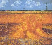 Vincent Van Gogh Wheatfields With Cypress at Arles oil painting picture wholesale