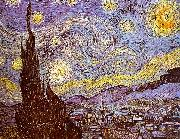 Vincent Van Gogh Starry Night oil painting picture wholesale