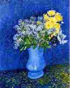 Vincent Van Gogh Vase with Lilacs, Daisies Anemones oil painting picture wholesale