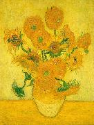Vincent Van Gogh Sunflowers  ww France oil painting reproduction