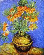 Vincent Van Gogh Crown Imperial Fritillaries in Copper Vase oil painting picture wholesale