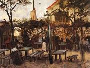 Vincent Van Gogh The Guingette at Montmartre oil painting picture wholesale