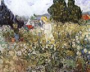 Vincent Van Gogh Mlle.Gachet in Her Garden at Auvers-sur-Oise oil painting picture wholesale