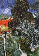 Vincent Van Gogh Dr.Gachet's Garden at Auvers-sur-Oise oil painting picture wholesale