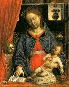 Vincenzo Foppa Madonna and Child with an Angel  k oil painting artist