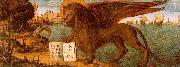 Vittore Carpaccio The Lion of St.Mark oil painting artist