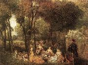 WATTEAU, Antoine Les Champs Elys es oil painting picture wholesale