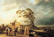 WATTEAU, Louis-Joseph The Storm21 oil painting artist
