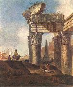 WEENIX, Jan Baptist Ancient Ruins oil painting artist