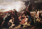 WEST, Benjamin The Death of General Wolfe oil painting artist