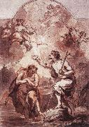 WIT, Jacob de Baptism of Christ in the Jordan oil painting artist