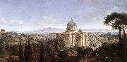 WITTEL, Caspar Andriaans van The St Peter s in Rome oil painting picture wholesale