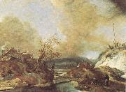 WOUWERMAN, Philips Dune Landscape qet oil painting picture wholesale