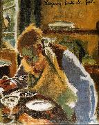 Walter Sickert Lazurus Breaks His Fast oil painting picture wholesale