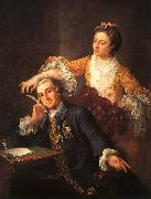 William Hogarth David Garrick and His Wife oil painting picture wholesale