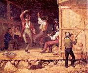 William Sidney Mount Dance of the Haymakers oil painting picture wholesale