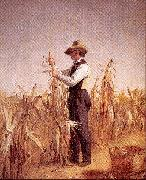 William Sidney Mount Long Island Farmer Husking Corn oil painting picture wholesale