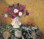 Wilson Irvine Still Life with Petunias oil painting picture wholesale