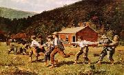 Winslow Homer Snap-the-Whip oil painting picture wholesale