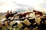 Winslow Homer Mt Washington oil painting picture wholesale