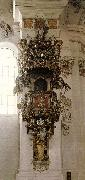 ZIMMERMANN, Dominikus Pulpit st oil painting artist